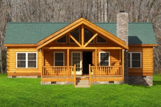 Log Home - Flat Rock Series