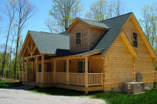 Log Home - Highlands (Duplex Series)
