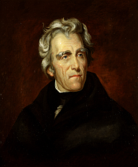 andrew jackson U.S. Presidents and Log Cabins